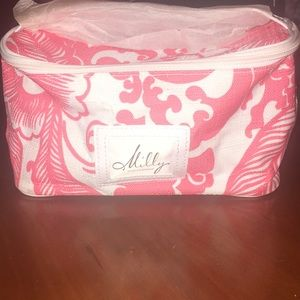 Milly for Clinique cosmetic bag
